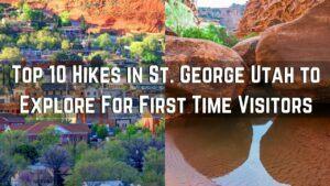 Hikes in St. George Utah