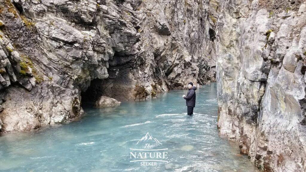 canadian rockies secret hiking trail example
