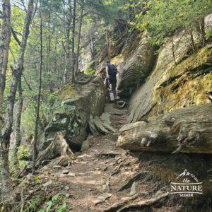 devils path hike near indian head peak