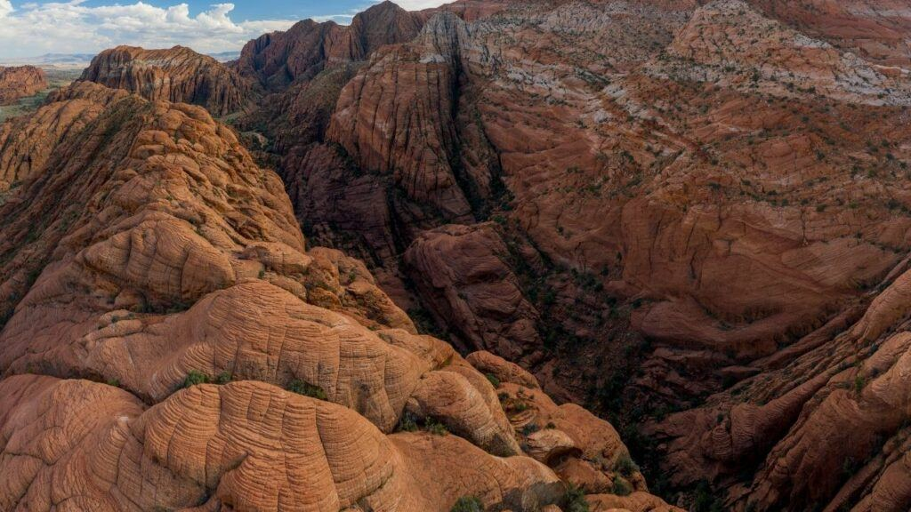 fossil canyon hike in st. george utah