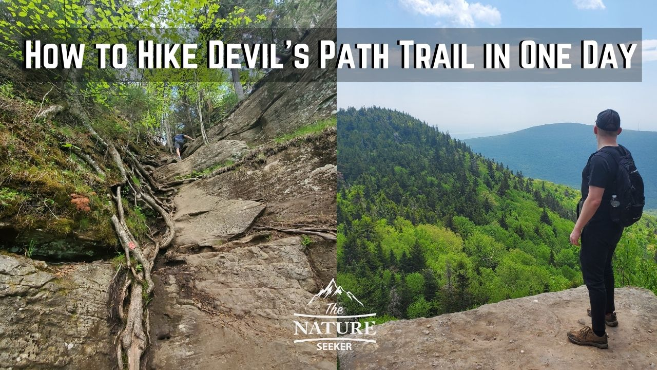 how to hike devils path hike in one day at the catskills