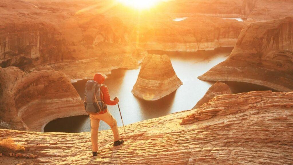 reflection canyon image at glen canyon