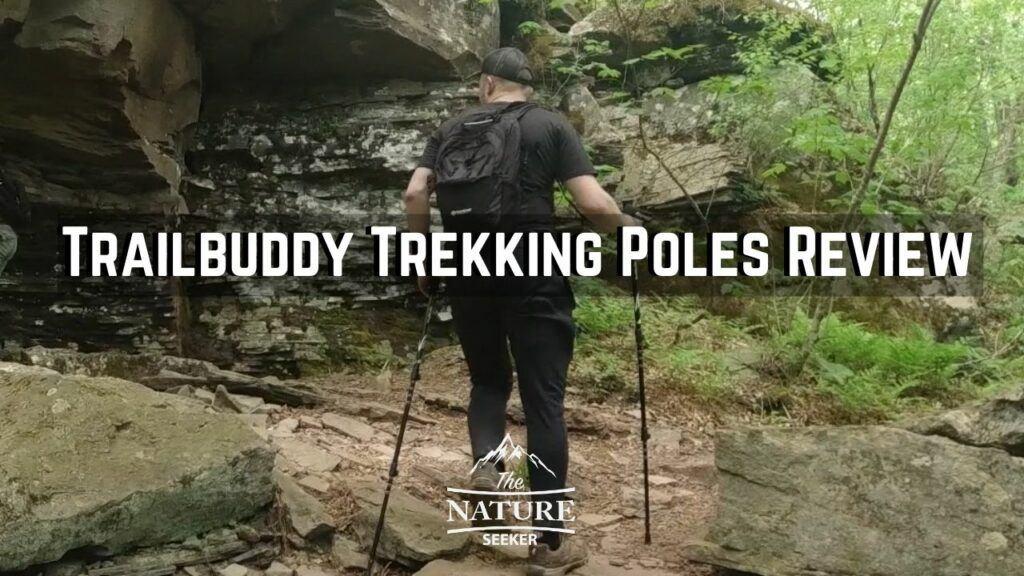 trailbuddy trekking poles review