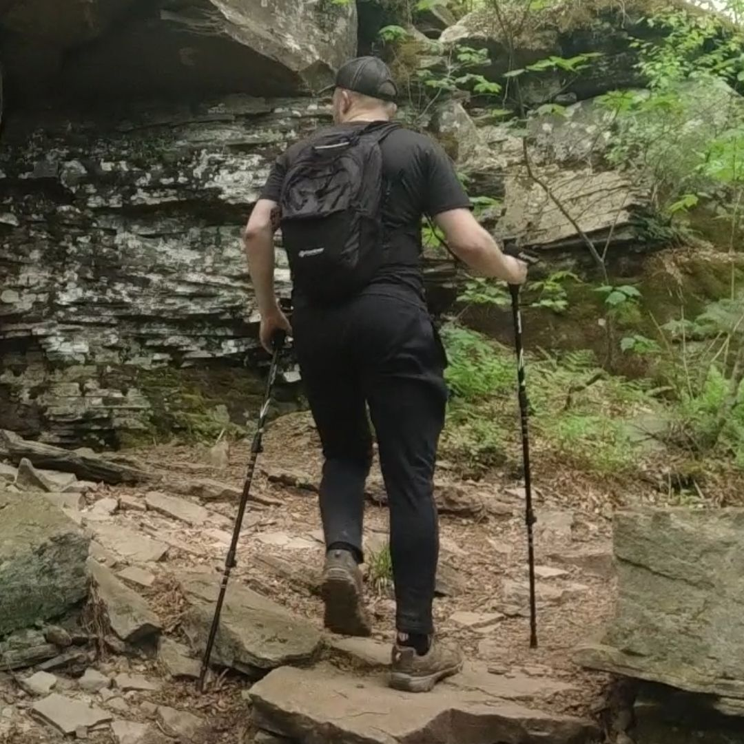 trekking poles to carry for devils path hike