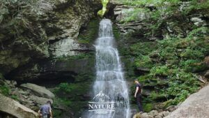 beautiful buttermilk falls in the catskill mountains 01