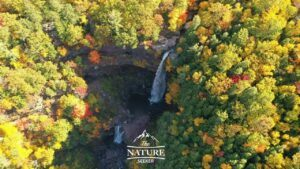 kaaterskill falls in the catskill mountains 02