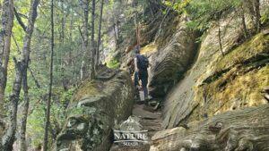 indian head loop catskill mountains hiking trail