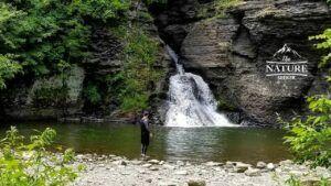 minekill falls catskill mountains hiking trail 03