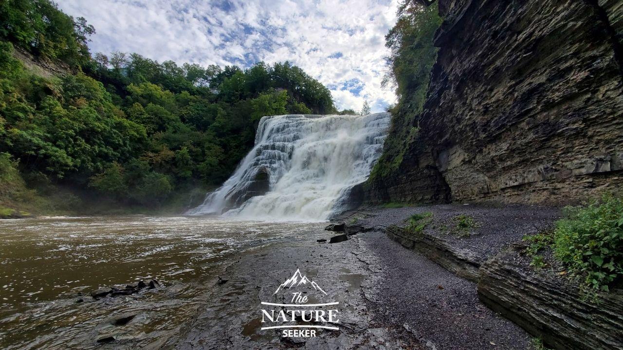 Ithaca falls in finger lakes ny 01