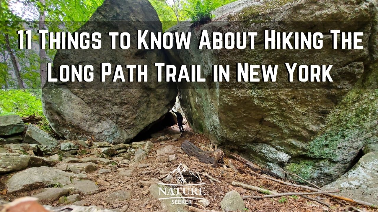 Long Path Hiking Trail in NY