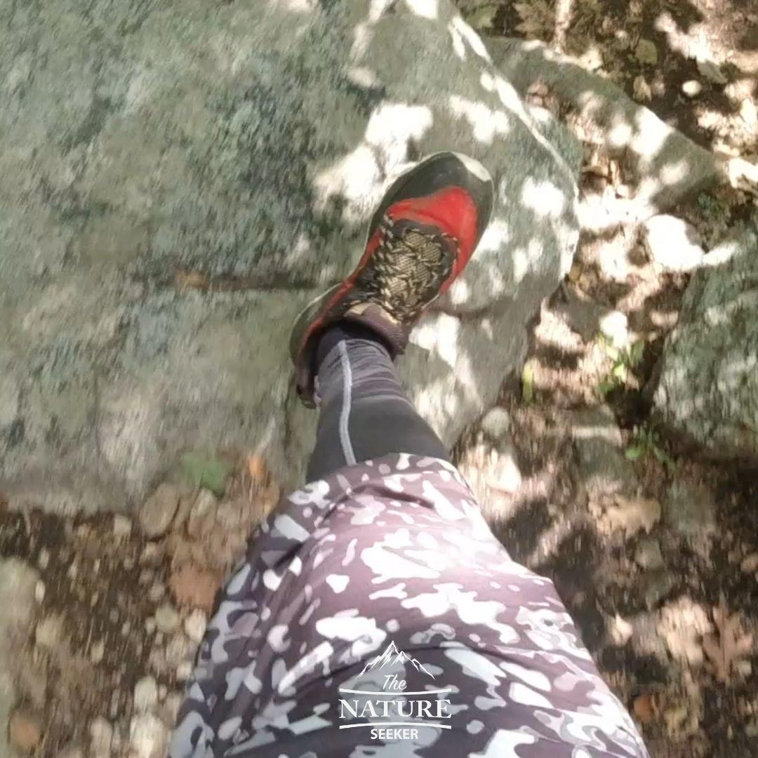 Merrell Men Moab Speed Hiking Shoes rock scrambling