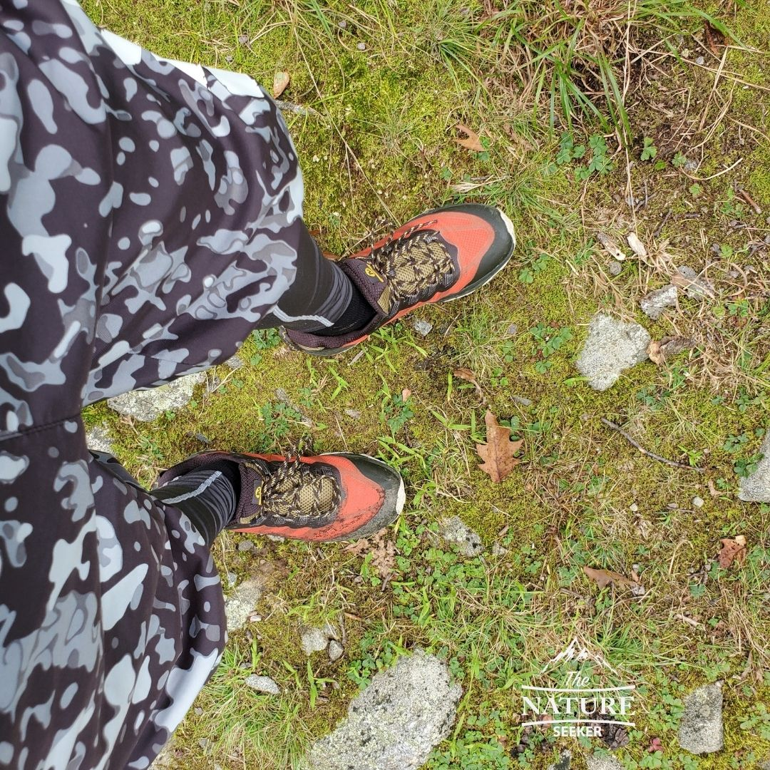 testing Merrell Men Moab Speed Hiking Shoe 01