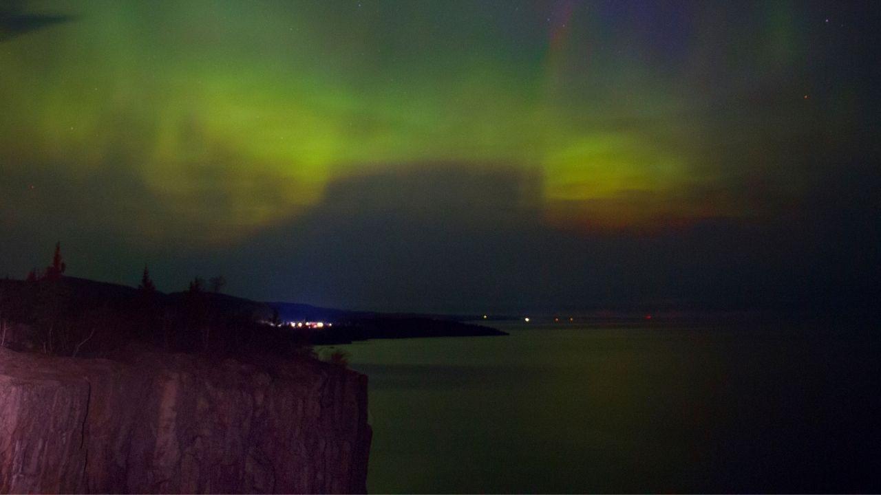 North Shore Minnesota northern lights
