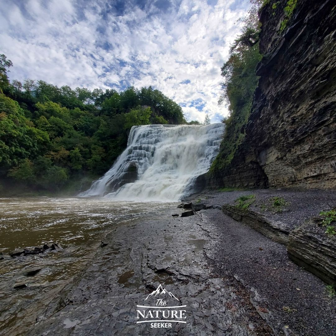 finger lakes waterfalls ithaca falls 09