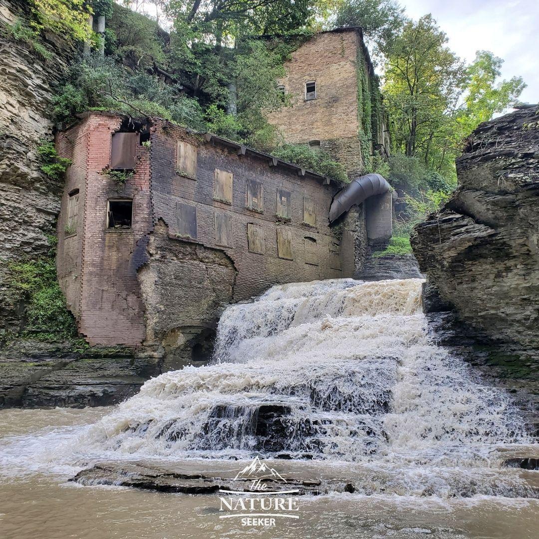 finger lakes waterfalls wells falls 04