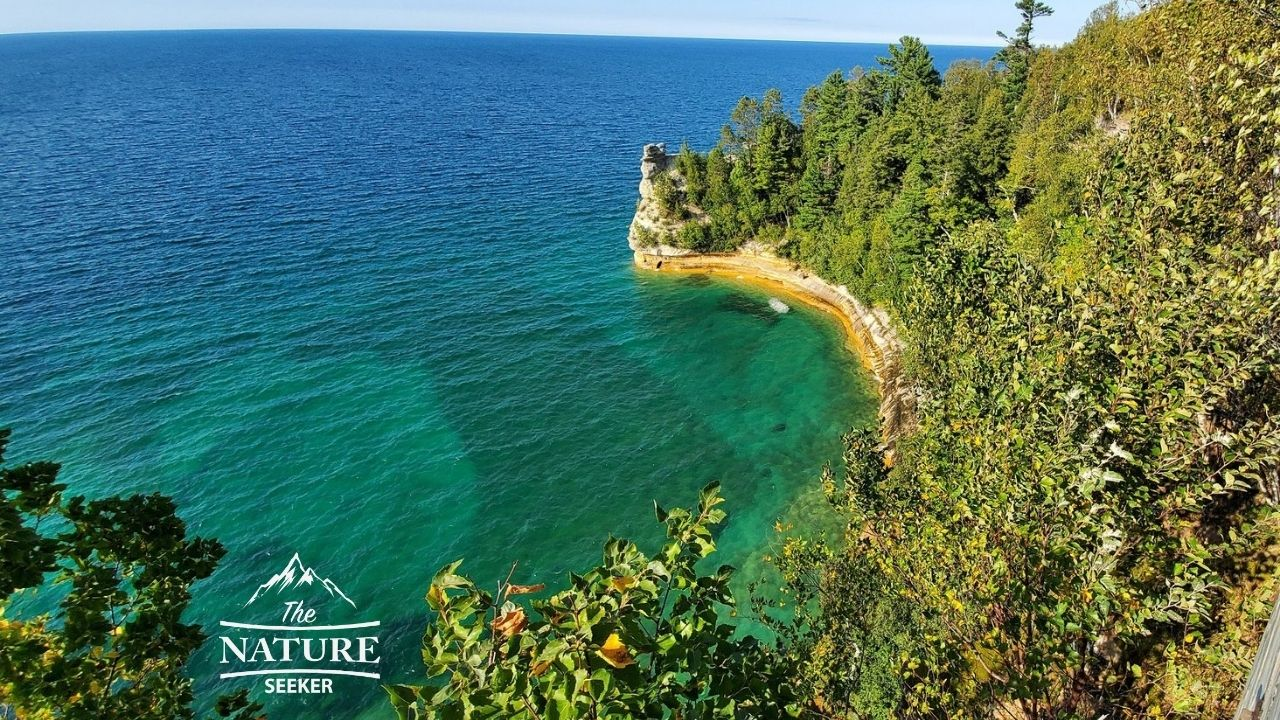 pictured rocks national lakeshore Miners Castle Point