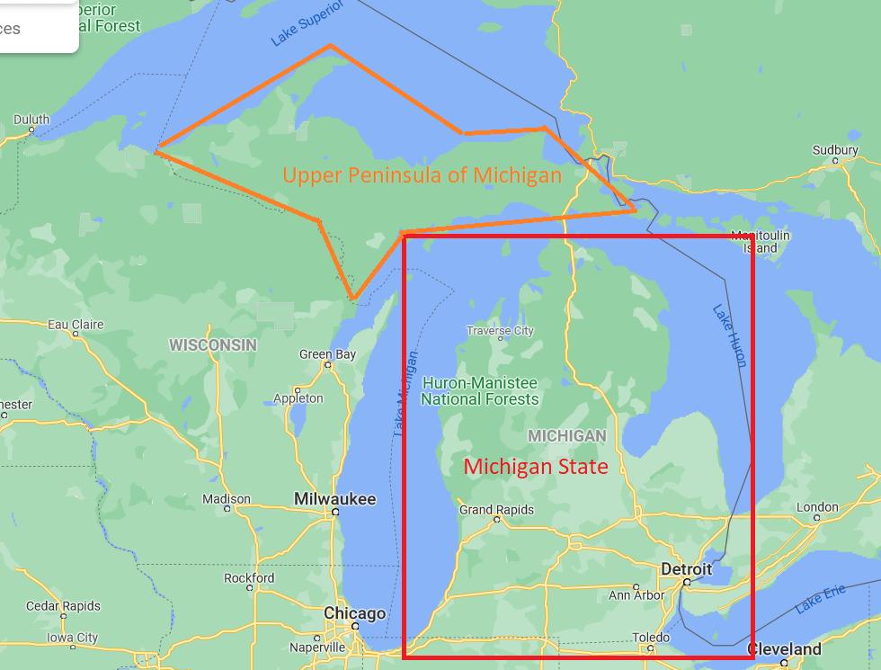 upper peninsula of michigan map 05